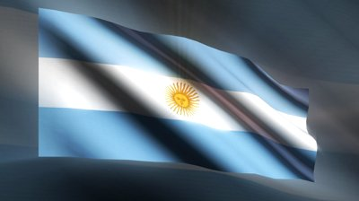 stock-footage-a-beautiful-loop-argentina-flag